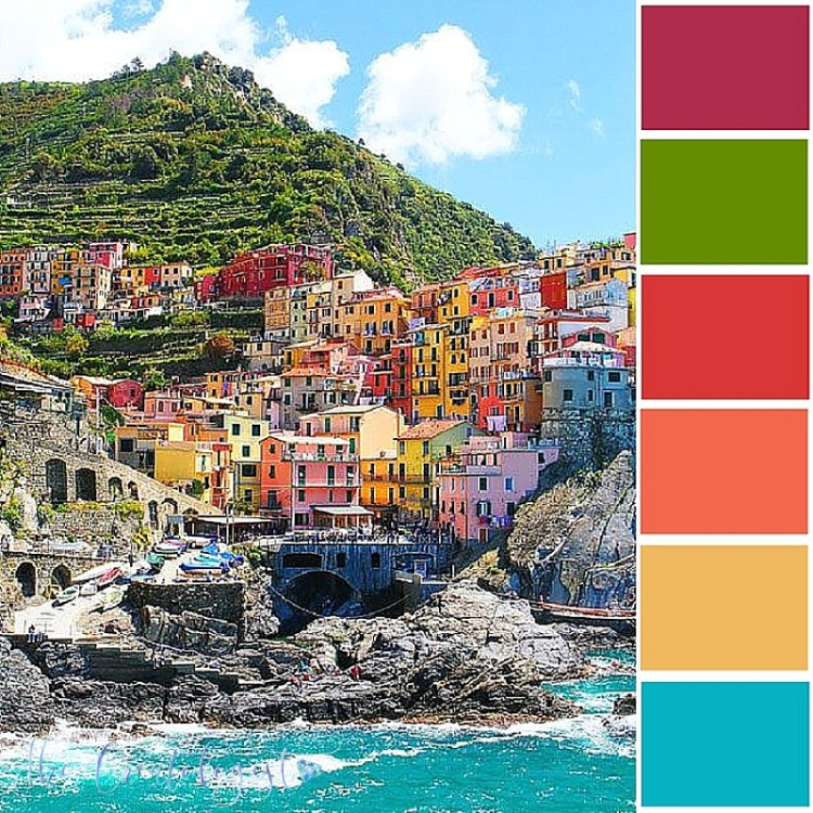Color Inspiration | The Mediterranean