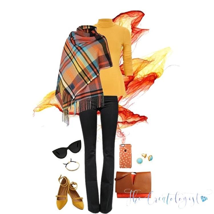 Fashion Inspiration   Bold Orange